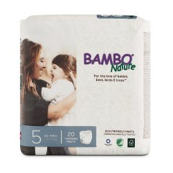 Bambo Nature Absorbent Disposable Pull On Toddler Training Pants