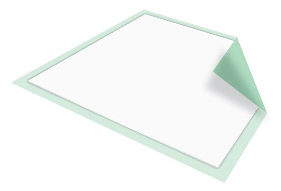 McKesson Regular Disposable Fluff / Polymer Absorbent Underpad
