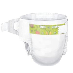 Curity Absorbent Disposable Baby Diaper Tab Closure