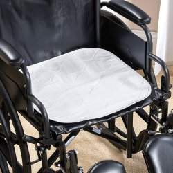 Reusable Polyester / Rayon Absorbent Wheelchair Pad