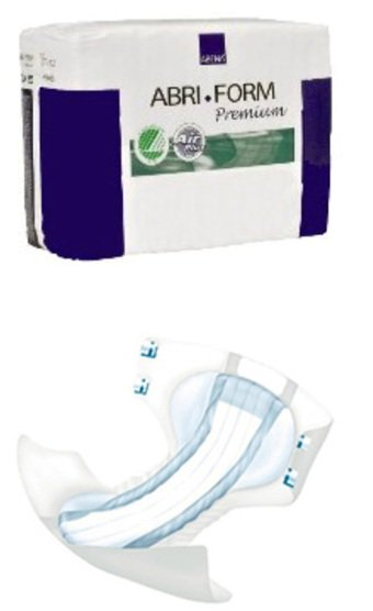 Abri Form Absorbent Adult Disposable Incontinent Premium Brief Tab Closure