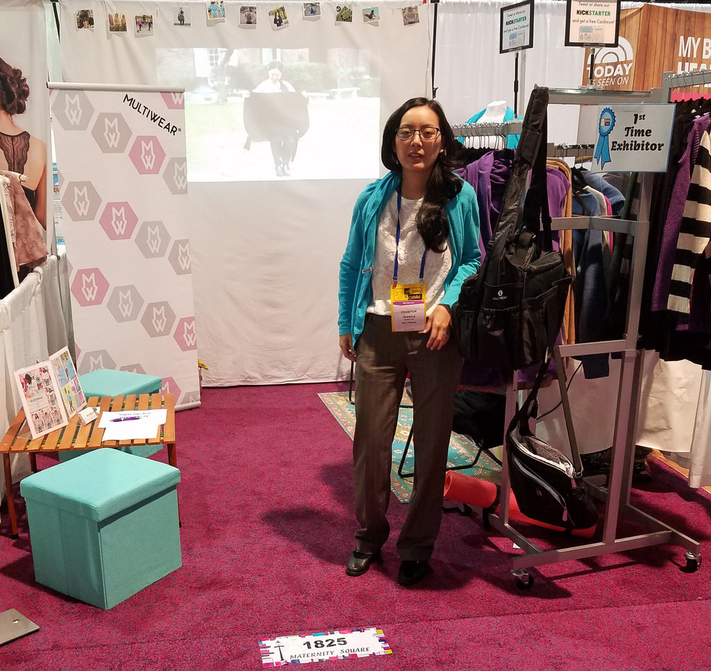 A mompreneur's first trade show