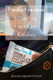 Product Review: Upspring Lactation Cookies