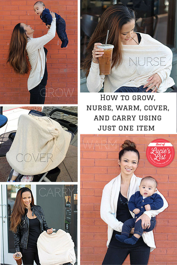 How to Grow, Nurse, Warm, Cover, and Carry Your Baby Using Just One Item