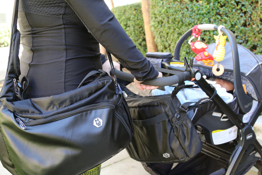A diaper bag designed by a working mom
