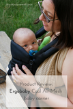 Product Review: Ergobaby Cool Air Mesh Baby Carrier - camping with a newborn - camping trip essentials