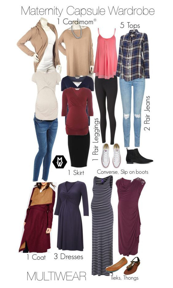 The 14 Piece Maternity Capsule Wardrobe