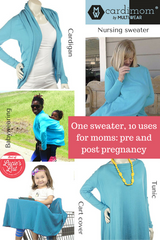 10 in 1 use sweater for moms: Cardimom®