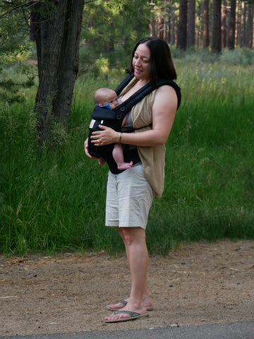 Ergobaby baby carrier babywearing sweater
