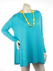 turquoise poncho small
