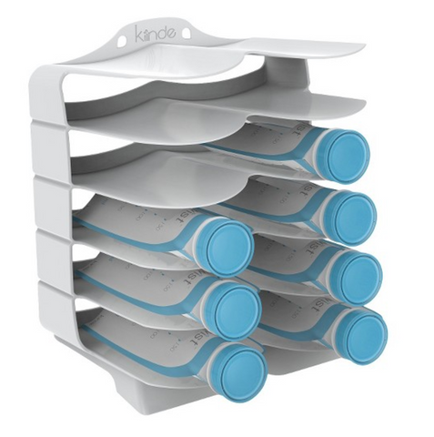 Kiinde breastmilk pouch freezer storage