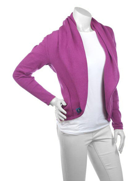 Cardimom magenta cardigan convertible nursing sweater