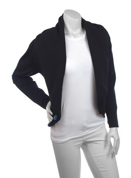 Cardimom cardigan black nursing sweater black