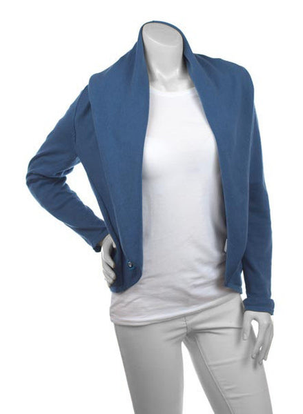 Cardimom blue cardigan convertible nursing sweater