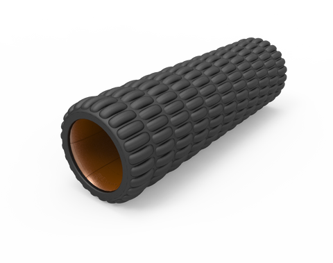 Black/Copper Standard Size Foam Roller