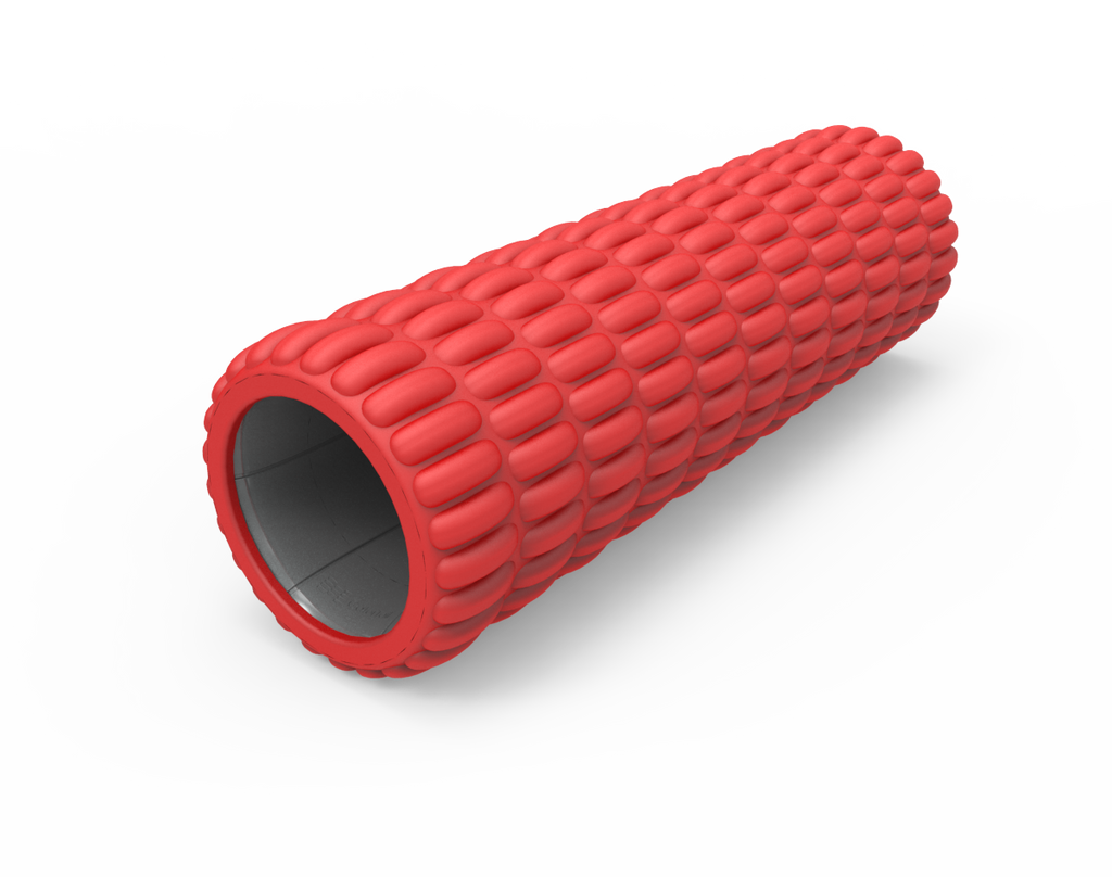 Red/Grey Standard Size Foam Roller