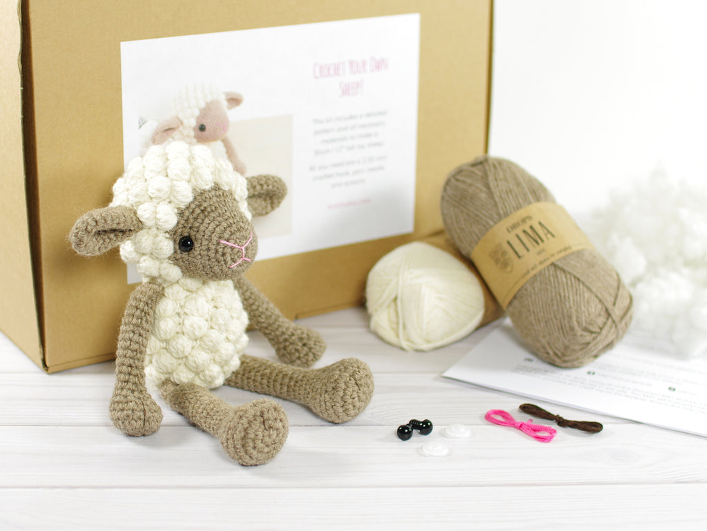 Small Beige Sheep Kit