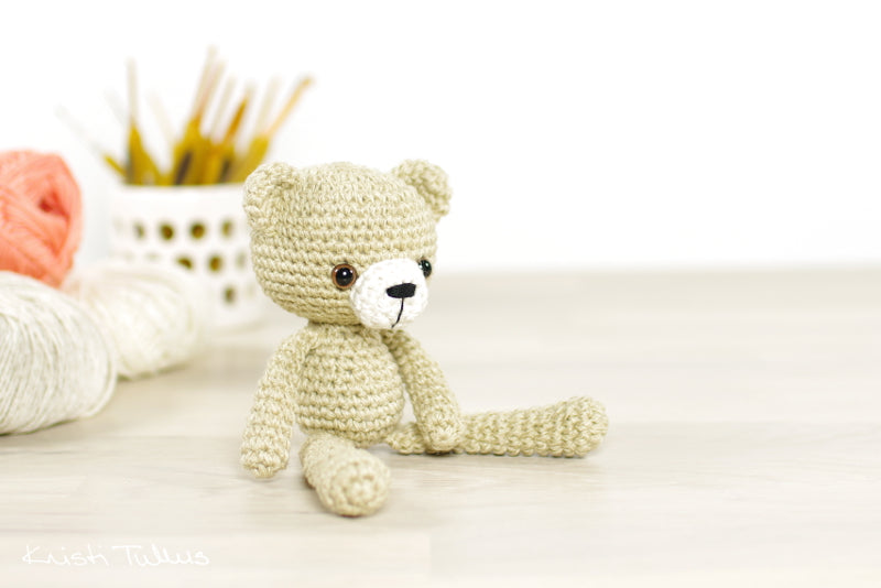 Amigurumi Teddy Bear Free Crochet Pattern - DIY Magazine | 534x800