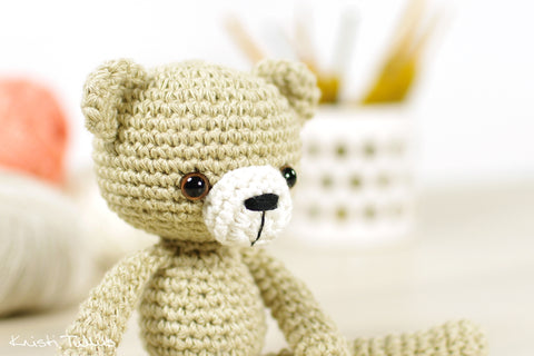 20+ Free Crochet Teddy Bear Patterns ⋆ Crochet Kingdom | 320x480