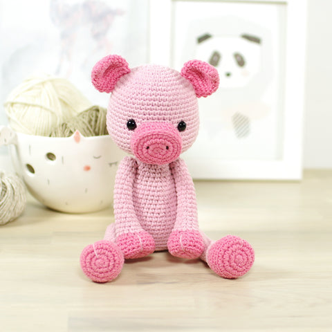 Crochet Horse and Donkey - A Free CAL - Grace and Yarn | 480x480