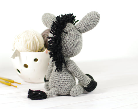 Dante the donkey and Carlos the cactus amigurumi pattern by Janine ... | 381x480