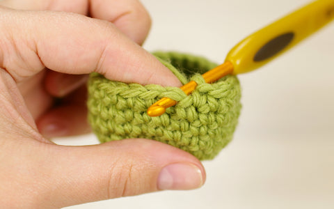 back post single crochet stitch