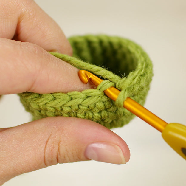 crocheting in front and back loops only and front and back post stitch