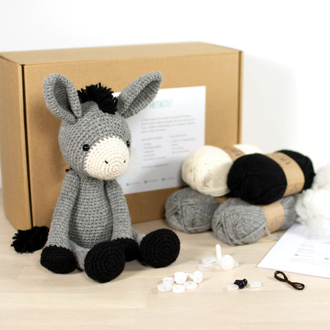 CROCHET KIT: Donkey