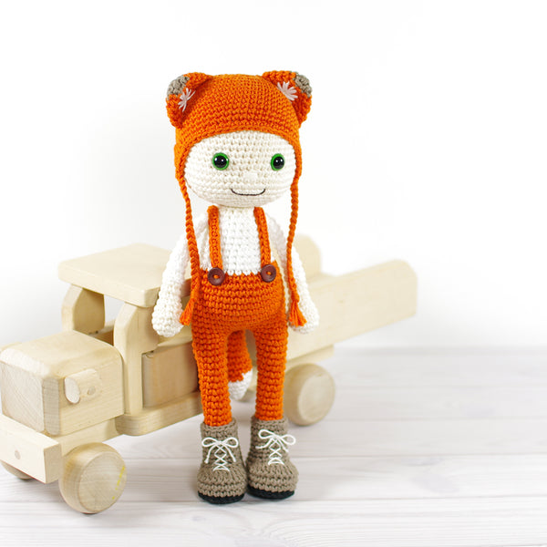 PATTERN: Doll in a Fox Costume