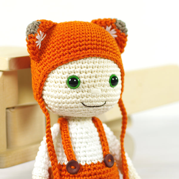 Doll in a Fox Costume
