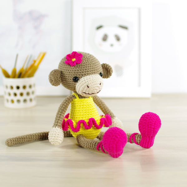 PATTERN: Monkey Ballerina