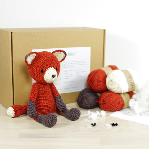 CROCHET KIT: Fox
