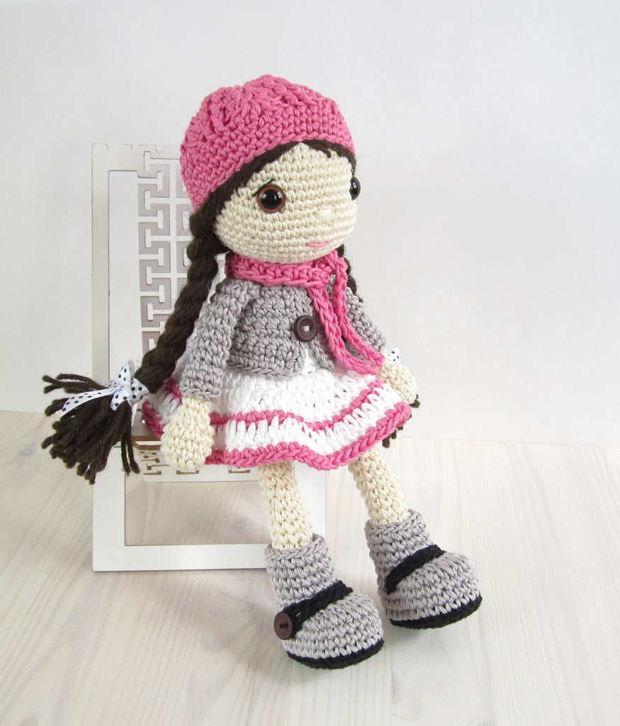PATTERN: Doll in a dress, jacket and boots Kristi Tullus