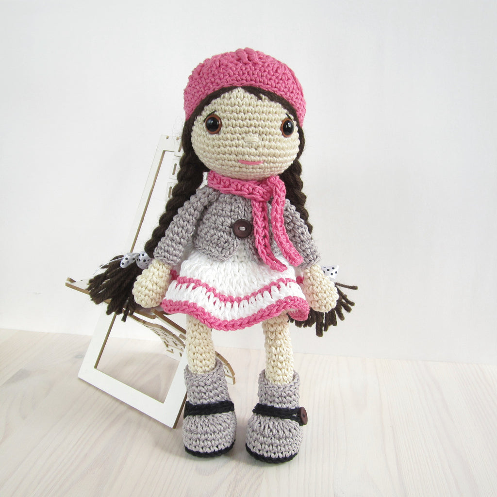 Pattern Doll In A Dress Jacket And Boots Kristi Tullus