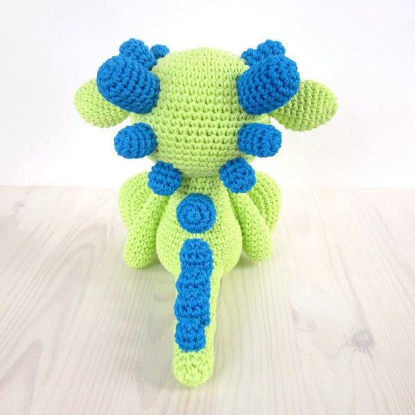 Cute amigurumi dragon