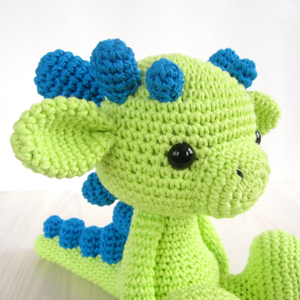 Baby dragon pattern