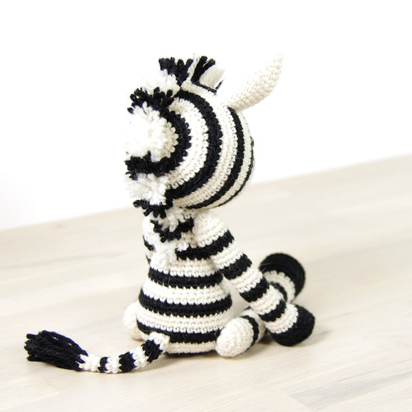 CROCHET KIT: Zebra