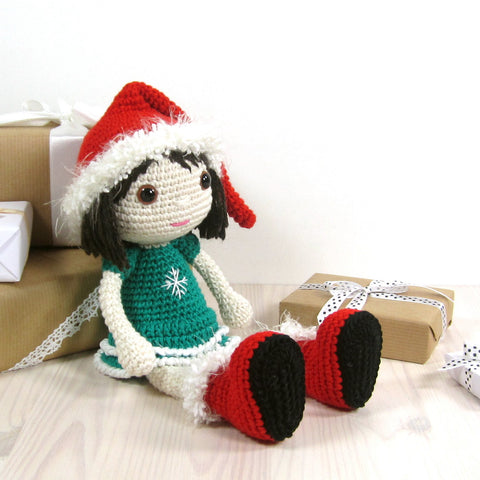PATTERN: Christmas elf - Girl