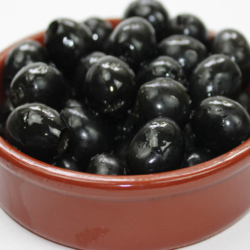 Black Spanish Pitted Olives in Brine