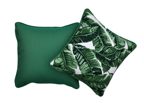 Palm Leave Pillows - Sunbrella Pillows