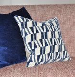Bossa Nova Pillow Covers in Navy