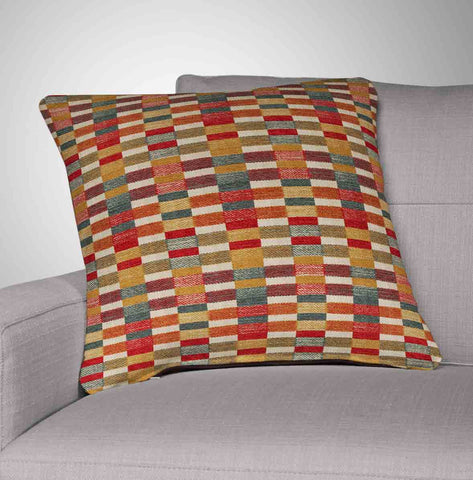 Multi Color Throw Pillow - Robert Allen - Cuttyhunk