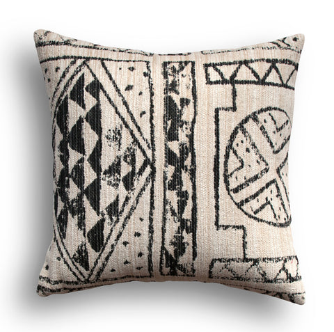 Nomad Pillow Cover - Cannot Resist in Onyx by Robert Allen