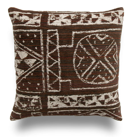 Nomad Pillow Cover - Cannot Resist in Carob by Robert Allen
