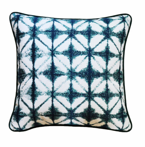 Sunbrella Pillow Cover -Sunbrella® Fabric - Green and White Pillow - Indigo Blue Pillow Cover - Gray and White Pillow Cover -Outdoor Pillows