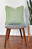 Shamrock Pillow Cover - Made with Sunbrella® Fusion Fabric