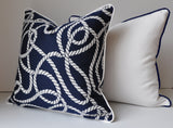 Outdoor Pillows - Sunbrella Pillows - Pillows with Piping - White Outdoor Pillows - White Sunbrella Pillows