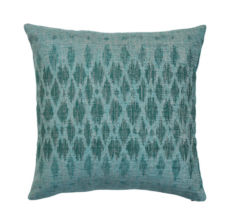 Peacock Jacquard Pillow Cover