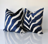 Thibaut Etosha Velvel Pillows