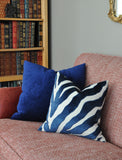 Zebra Print Pillows - Velvet Pillows